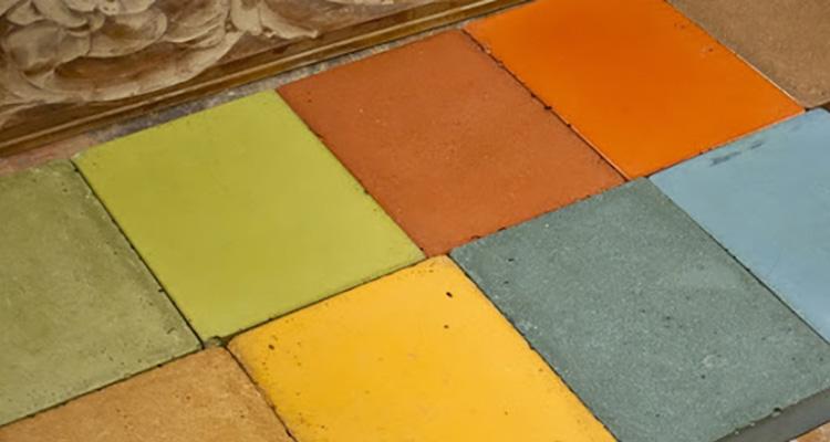 Integrally Colored Concrete